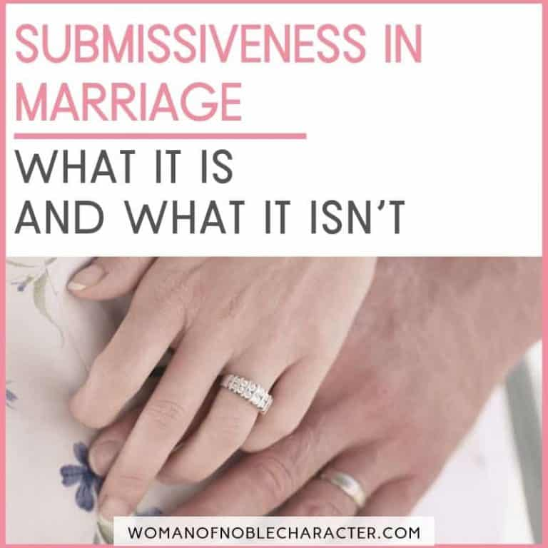 What Does it Mean to Be a Submissive Wife?