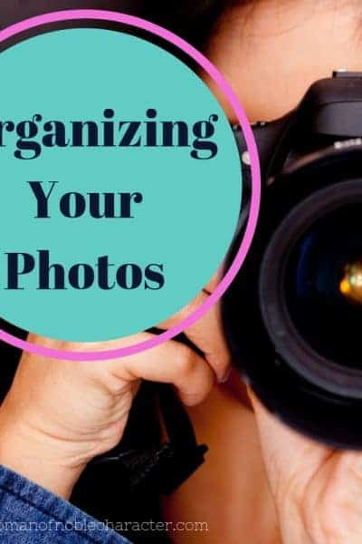 organizing your photos