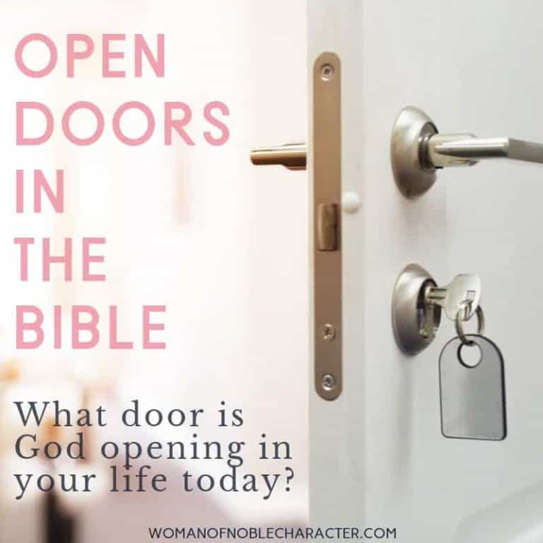 Open Doors in the Bible: What Doors is God Opening in Your Life?