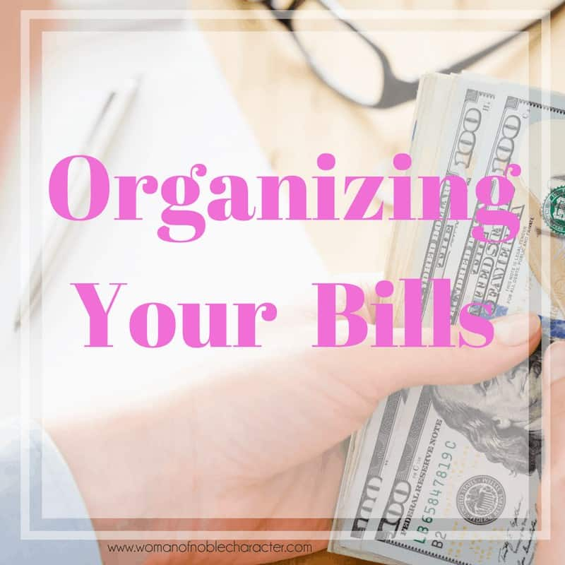 bill paying, budgeting, home finance, keeping track of paying bills