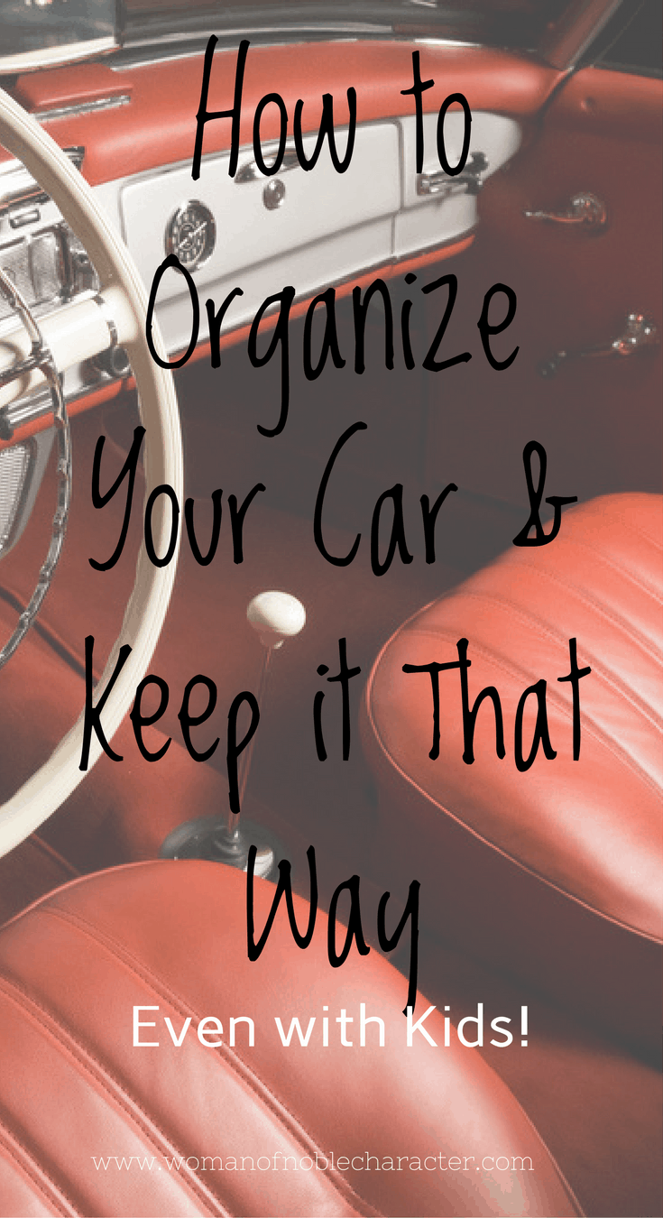 Easy Steps to Organize Your Car