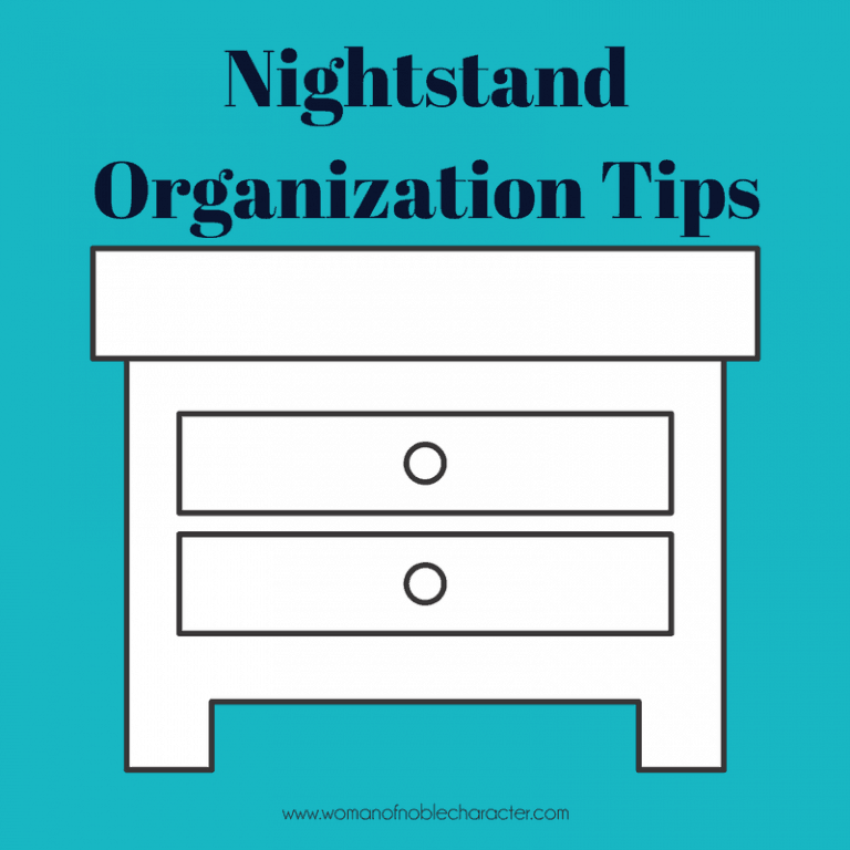 Creative Nightstand Organization Tips and Solutions