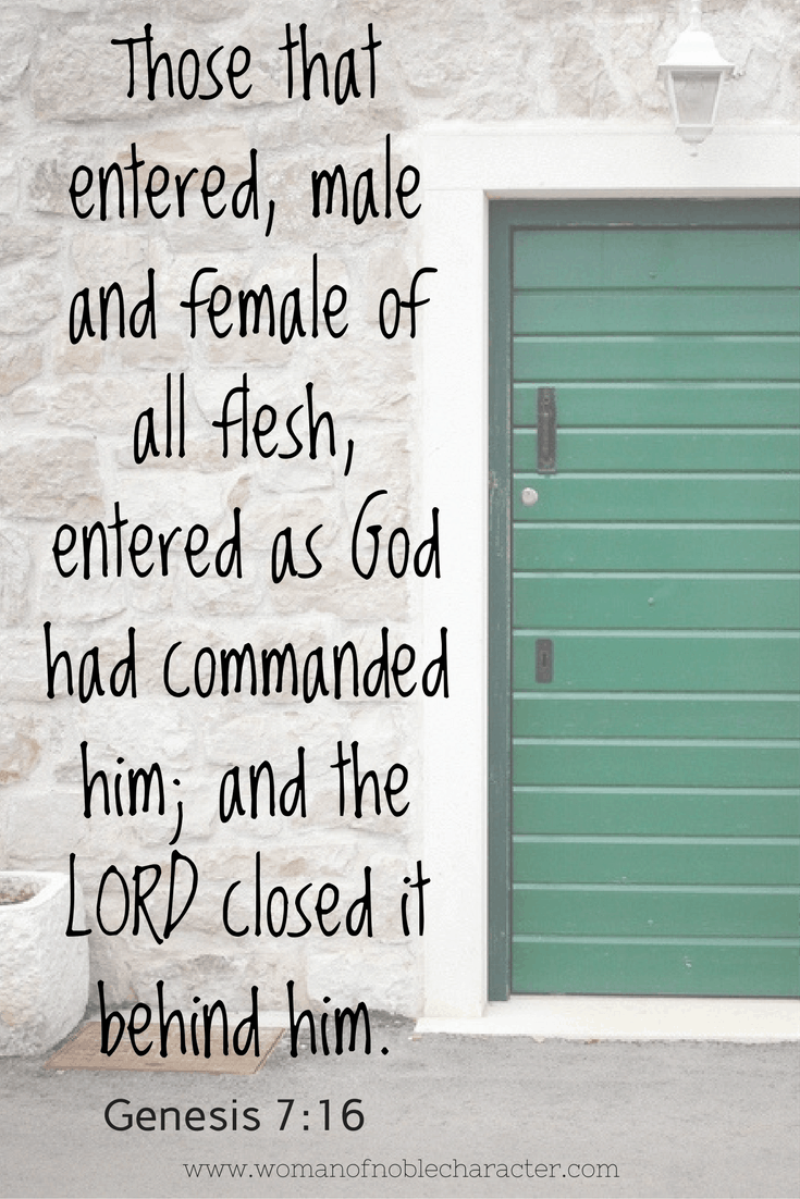Closed Doors in the Bible  sc 1 st  Woman of Noble Character & closed doors in the Bible and what they may mean