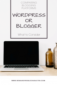 comparing blogging platforms