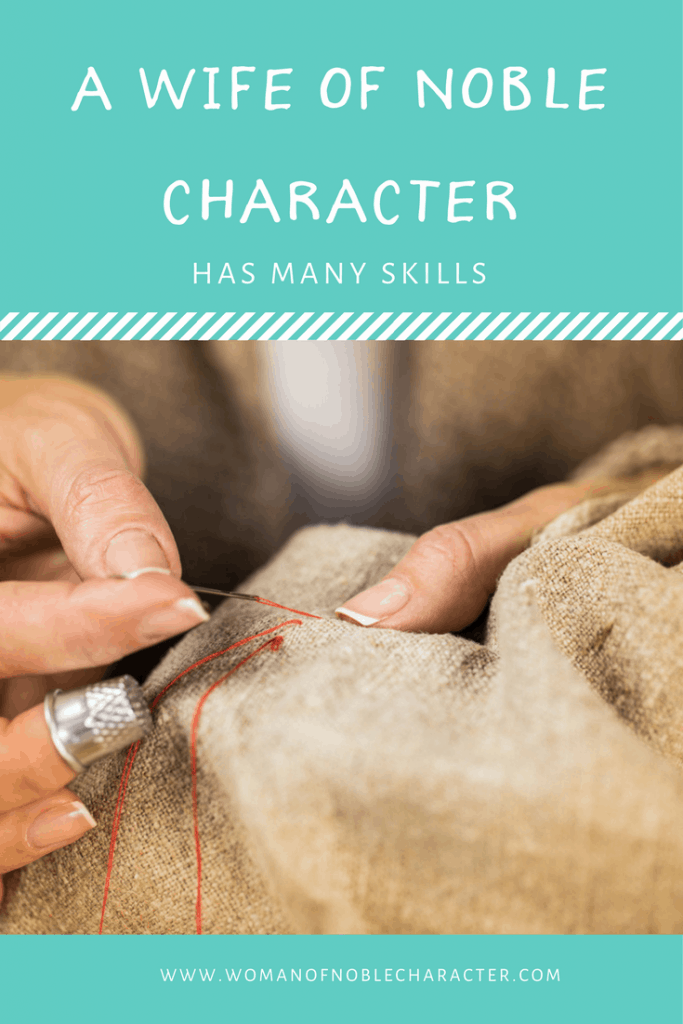 A wife of noble character