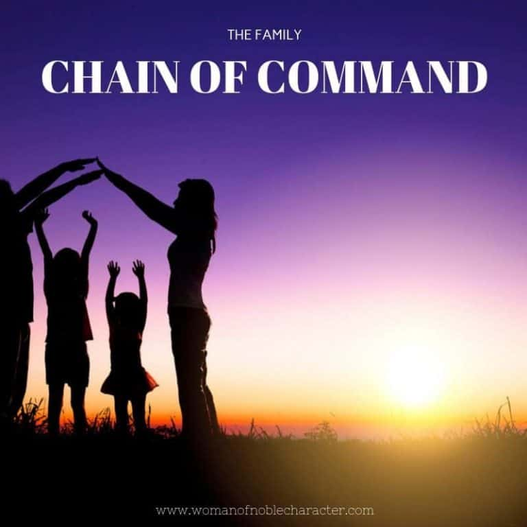The Family Chain of Command