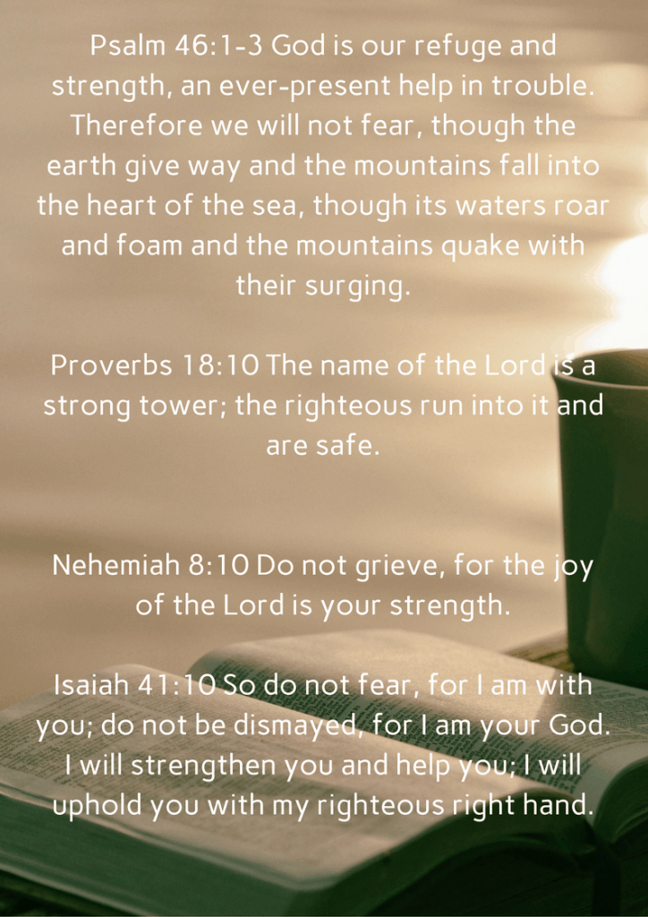 Bible verses for encouragement