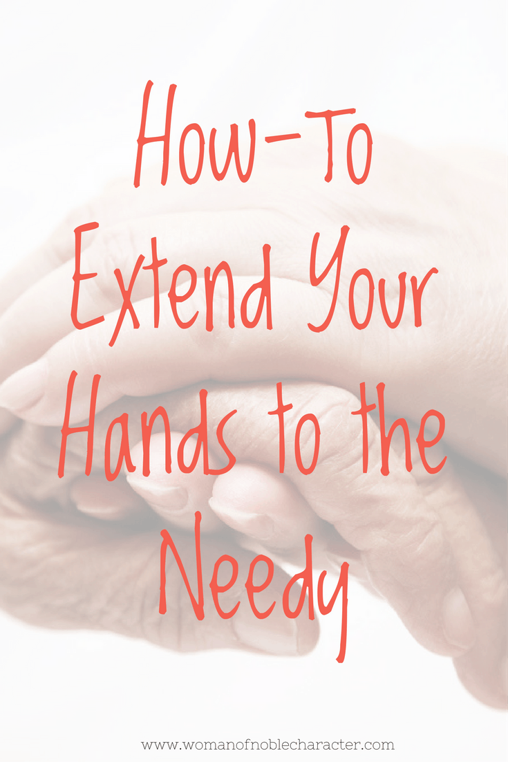 Extend your hands to the needy (1)