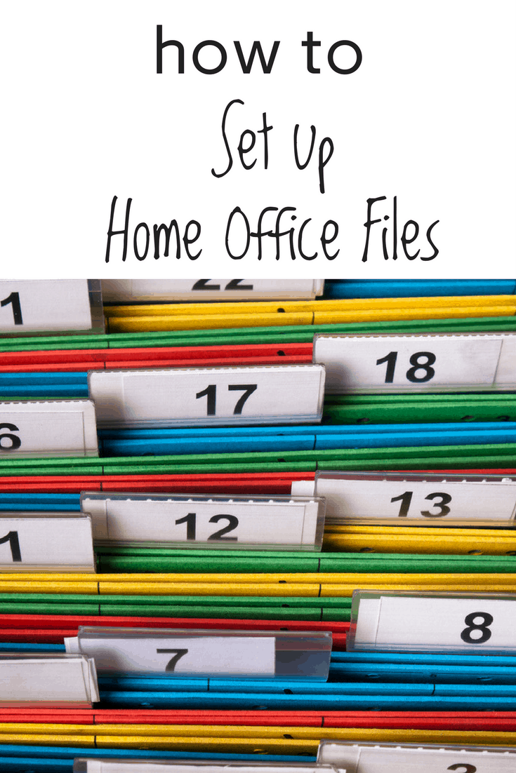 Home Office File System Home Office Files Home Office Filing System Home  Office Organization