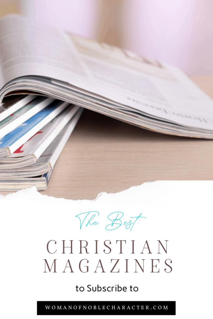Christian magazines