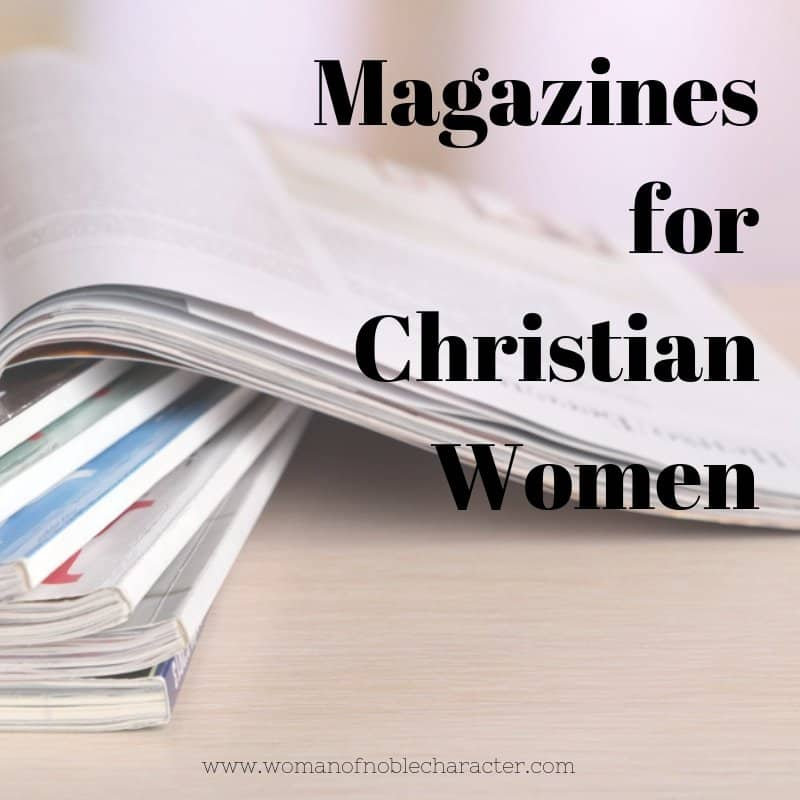Magazines for Christian women
