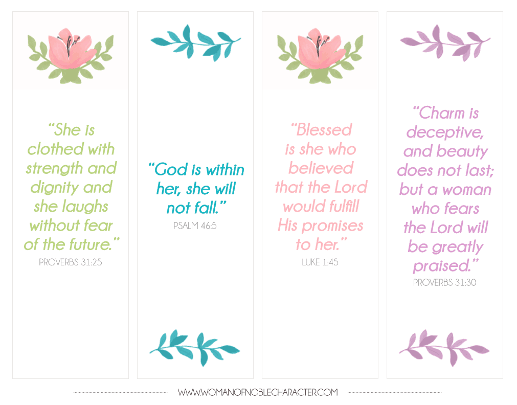 bible verse bookmarks free download free printable