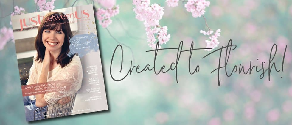 just between us ; magazines for Christian women