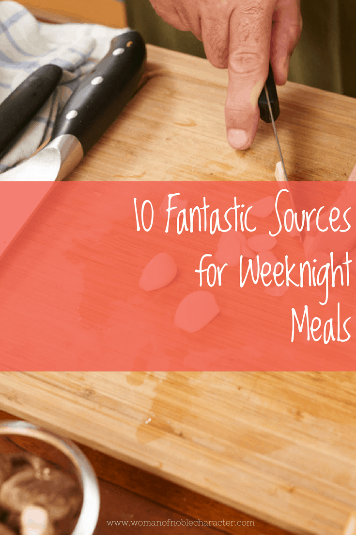 10 fantastic sources for weeknight meals
