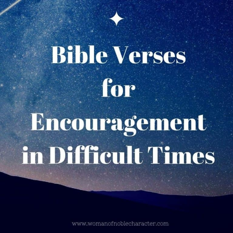 15 Beautiful Bible Verses To Encourage You During Difficult Times