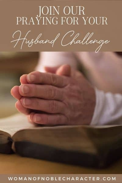Praying for Your Husband 8 Day Prayer Challenge