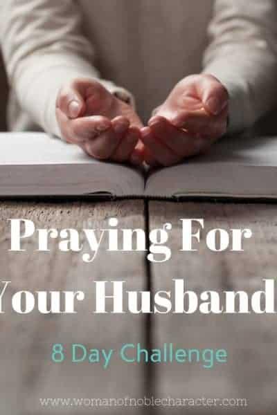 Praying for your husband challenge