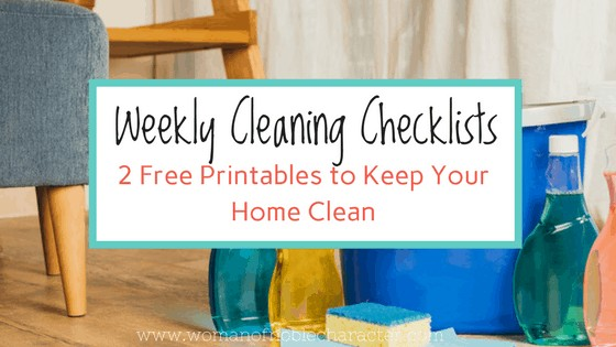 Free Weekly Cleaning Checklists to Keep Your Home in Top Shape