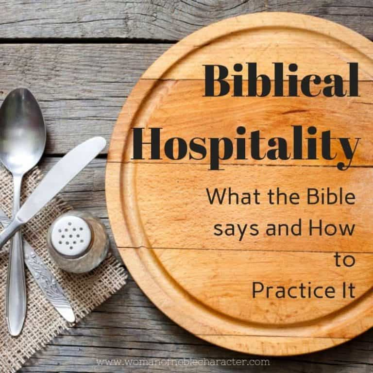 A Scriptural Look at Biblical Hospitality and How to Practice It