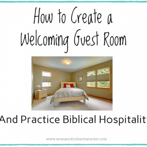 How to Create a Welcoming Guest Room