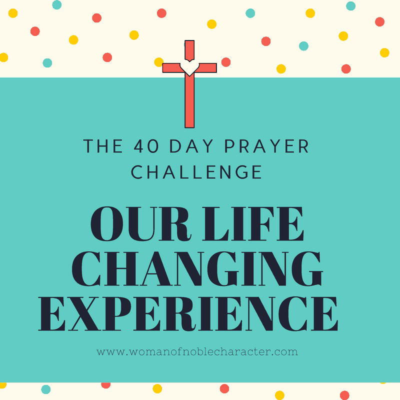 40 Day Prayer Challenge