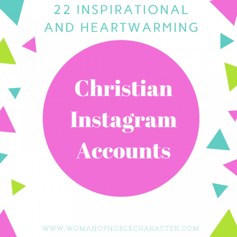 22 Inspirational and Heartwarming Christian Instagram Accounts to Follow