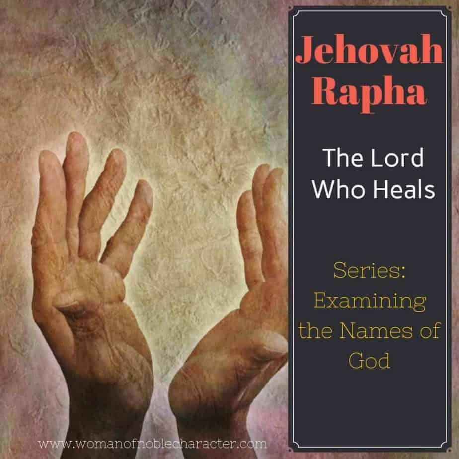 Jehovah Rapha Names of God