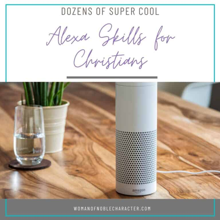 Dozens of Super Cool Alexa Skills For Christians