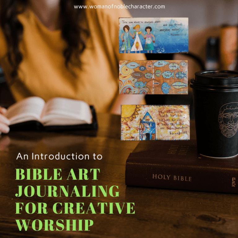 An Introduction To Bible Art Journaling For Creative Worship