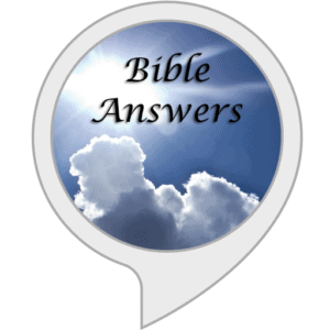 logo for Bible answers Alexa apps for Christians