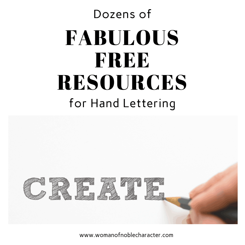Dozens of Fabulous Free Resources for Hand Lettering