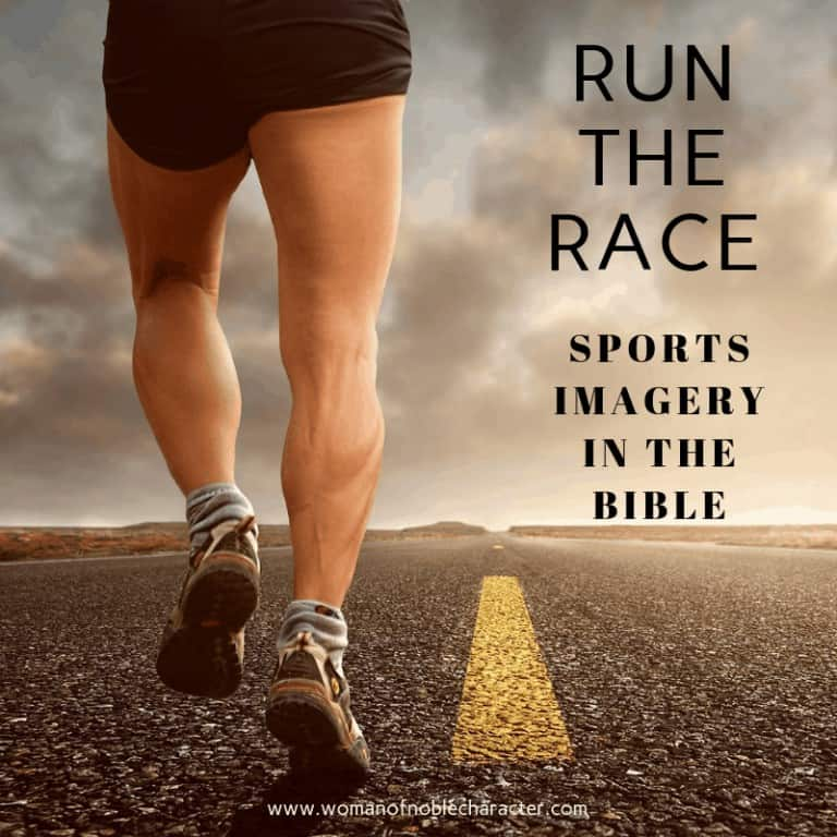 Run The Race: Sports Imagery In The Bible
