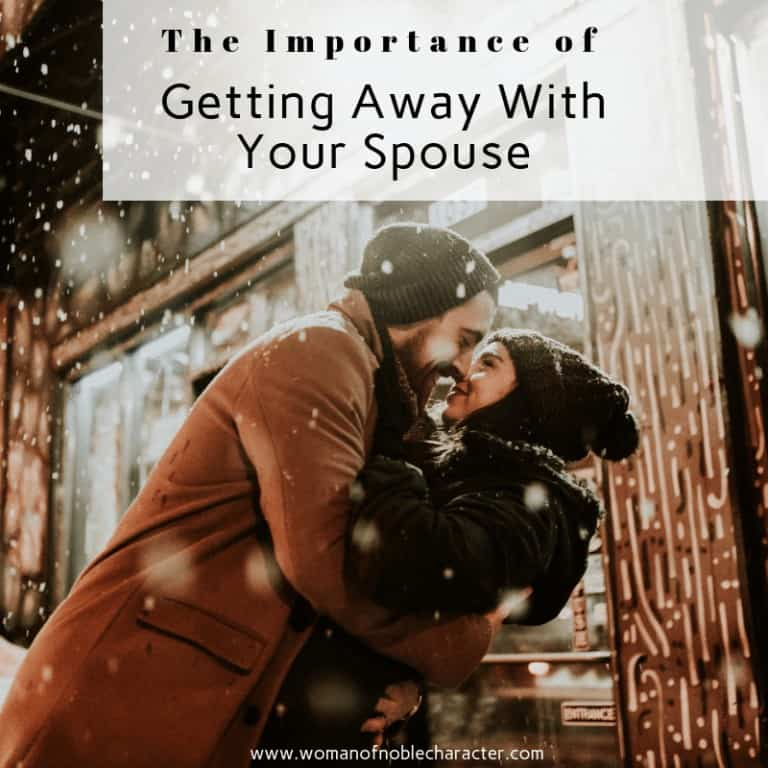The Importance of Getting Away With Your Spouse