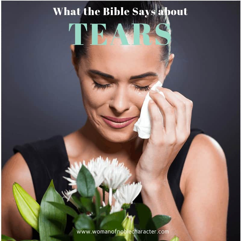 What the Bible Says about Tears #1