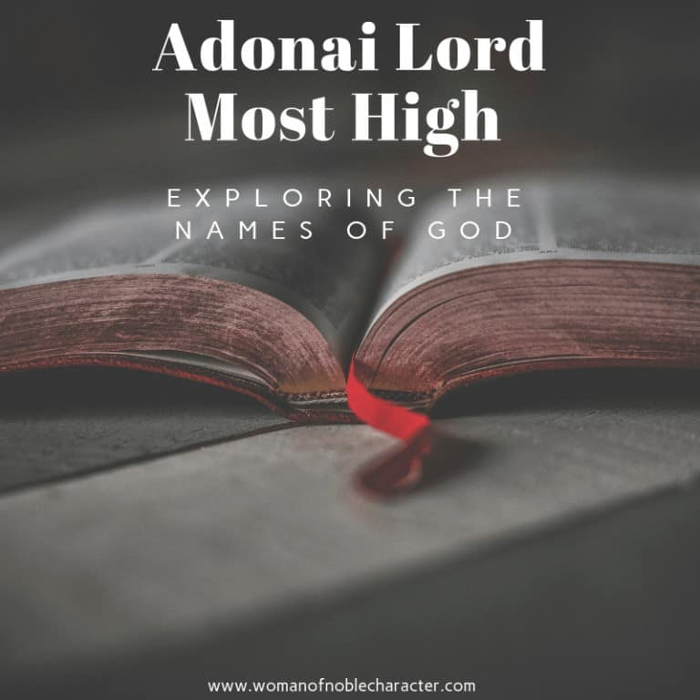 Adonai Lord Most High Exploring The Names Of God