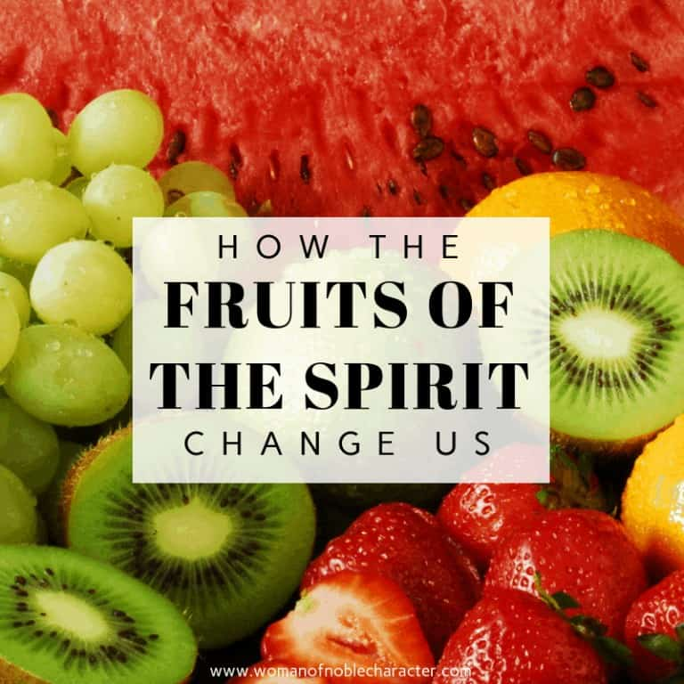 How The Fruit Of The Spirit Changes Us