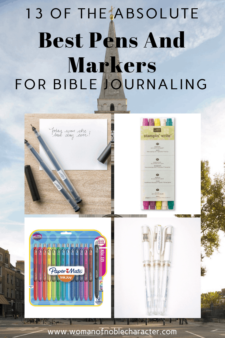 13 Of The Absolute Best Pens And Markers For Bible Journaling