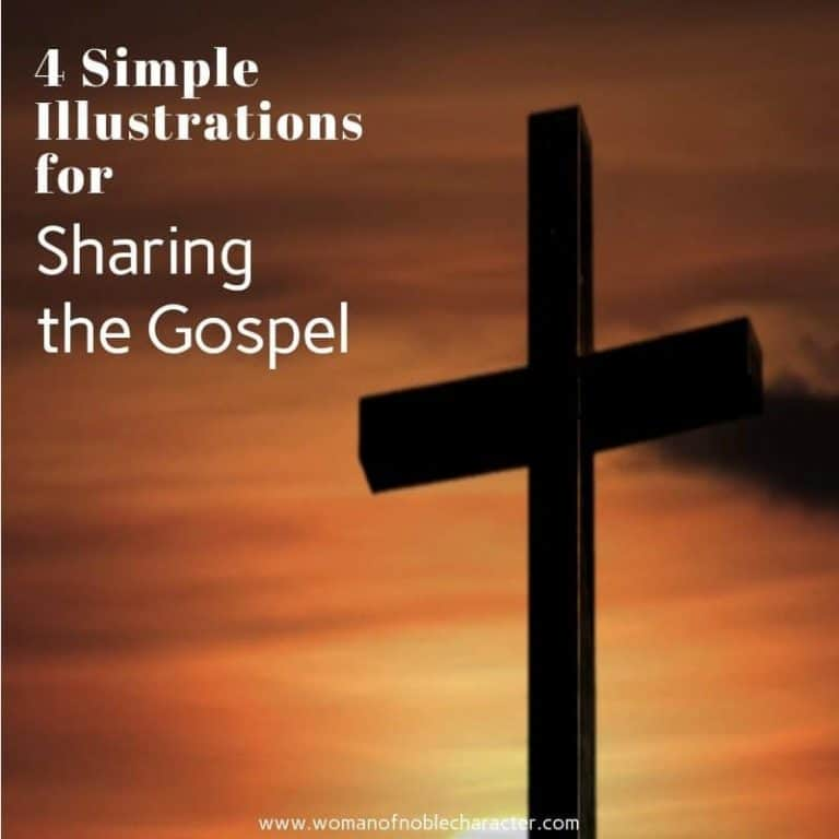 4 Simple Illustrations for Sharing the Gospel