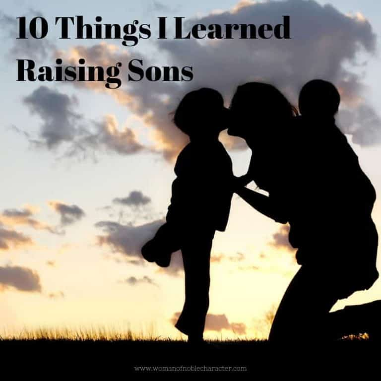 10 Things I Learned Raising Sons
