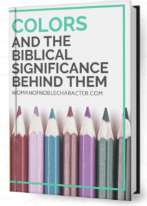 The ultimate guide to the symbolism of colors in the Bible ebook