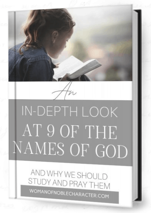 Names of God ebook cover