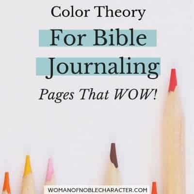 Color theory for Bible Journaling
