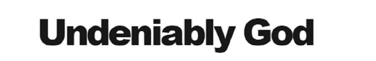 Undeniably God logo