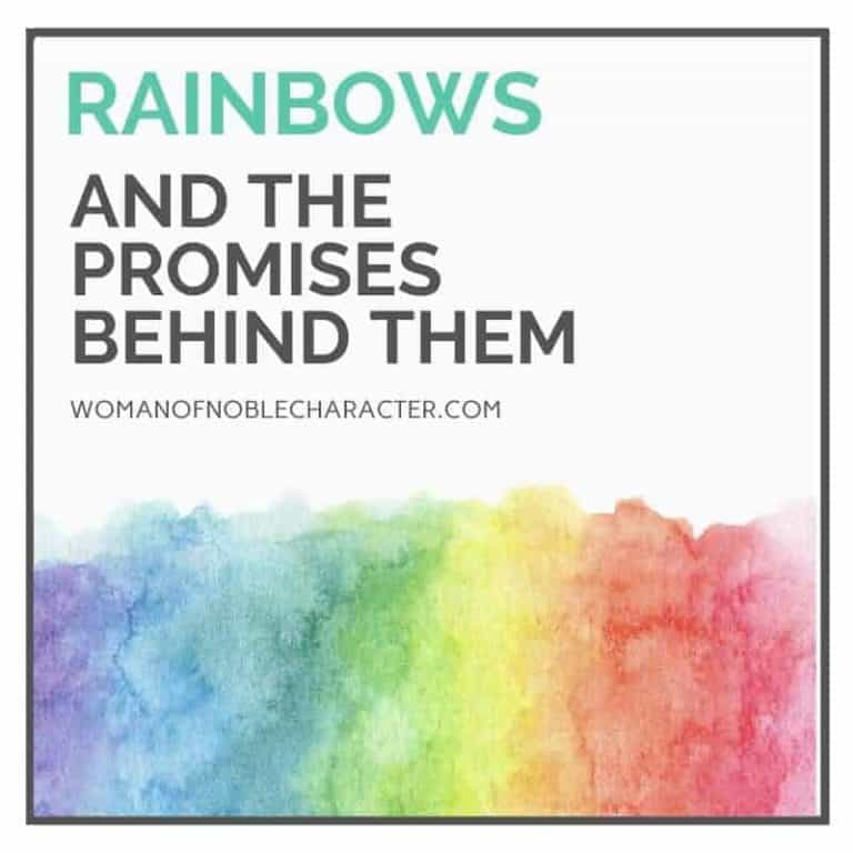 Three Rainbows In The Bible: 3 of God's Awe-Inspiring Promises to His Children