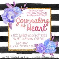 Free Bible Art Journaling Workshop - Journaling By Heart