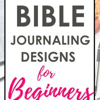 FREE Bible Journaling Designs for Beginners