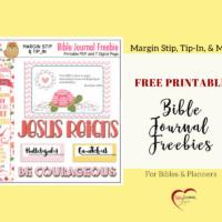 Bible Journal Kit & Free Printable