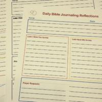 Free Bible Journaling Printables • The Littlest Way