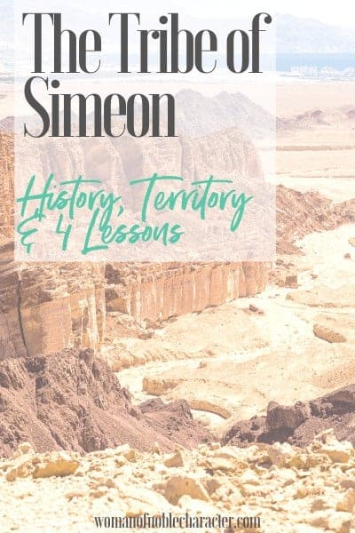 The Tribe of Simeon: History, Territory & 4 Lessons We can Learn