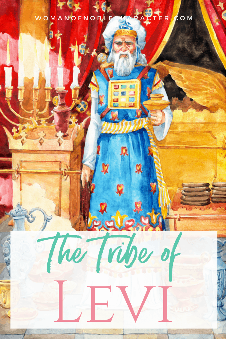 An image of the Jewish priest in the Holy Place - The Tribe of Levi